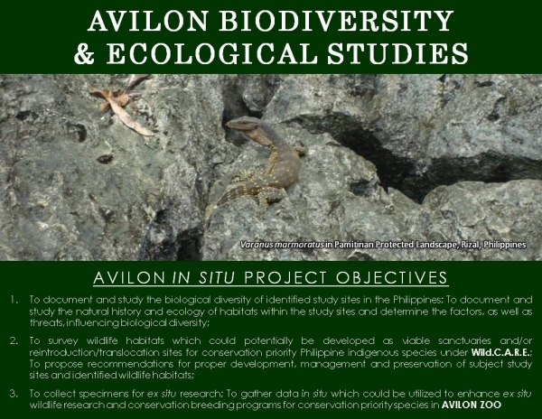 WILD.C.A.R.E. Biodiversity and Ecological Studies